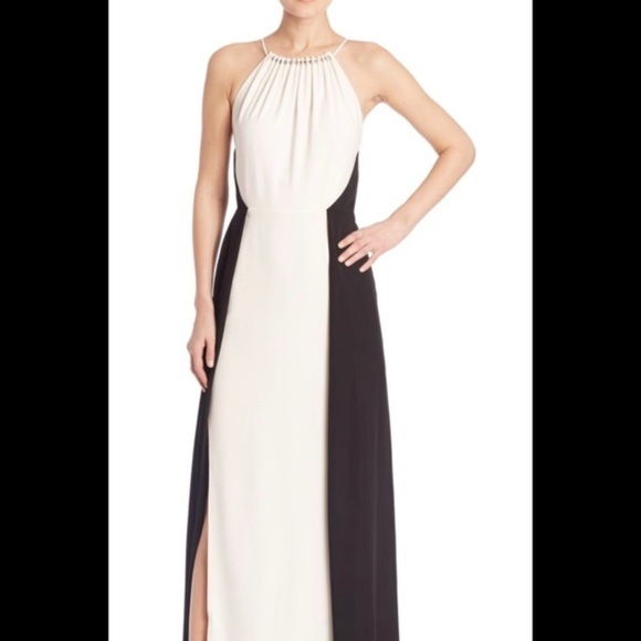 Halston Heritage Black and White Dress for sale 978ec6d5f